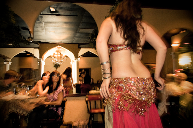 Sumaya Belly Dancing at Ali Baba