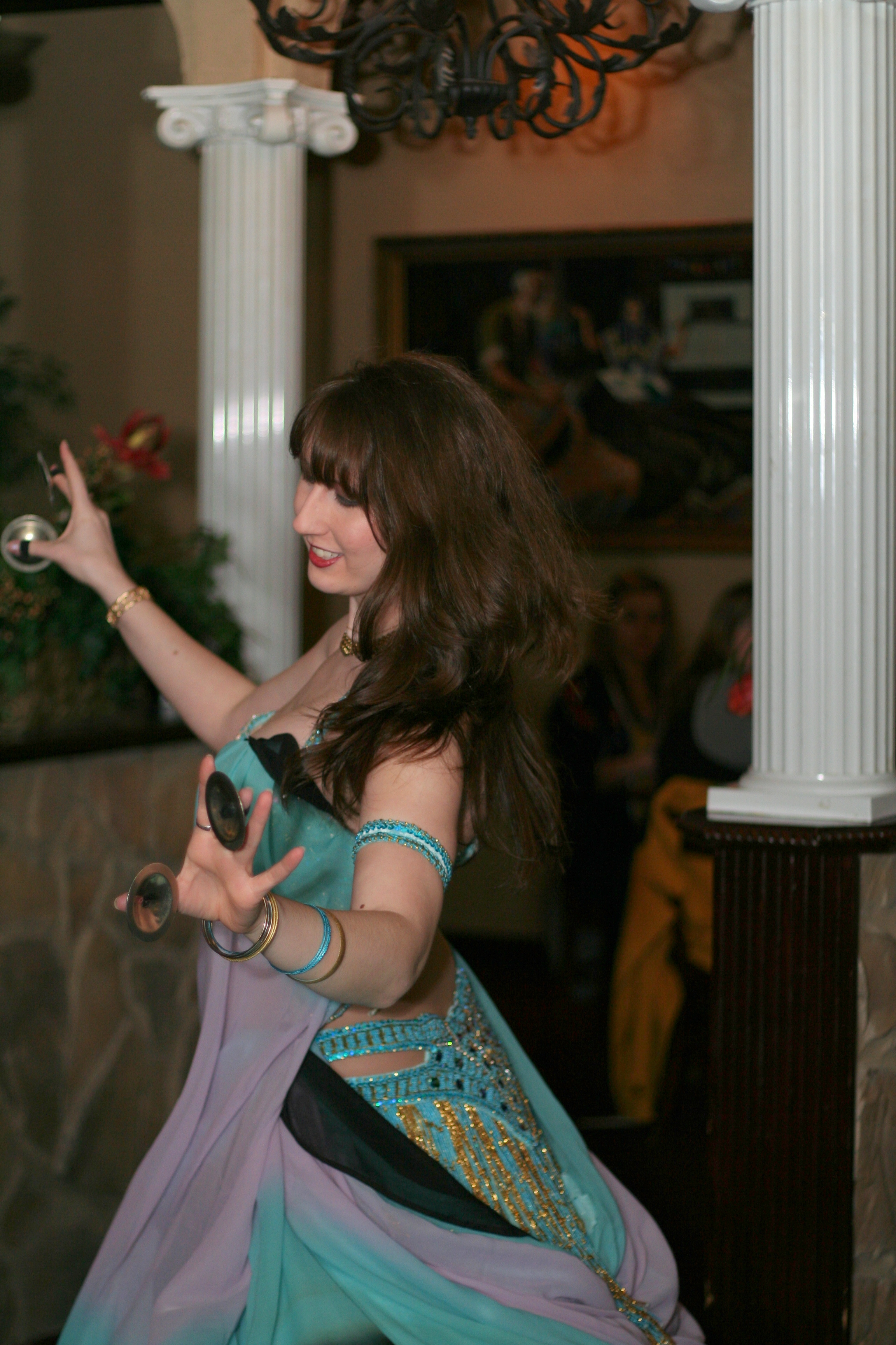 Sumaya dancing at Ali Baba